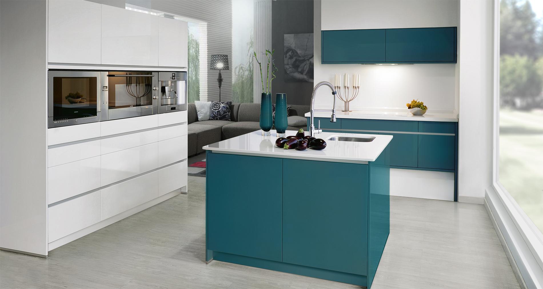 Rh cocinas creativas f brica de cocinas en le n for Modelos de cocinas integrales modernas